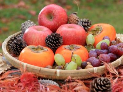 秋の味覚!果物の力でココロとカラダを整える!! 季節を楽しむ!親子でにこにこ☆Happyごはん