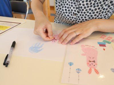 こどもの成長が記念に残せる「手形足形アート」|ママWATCH隊がゆく!