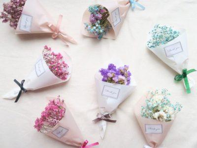 Let's make a dryflower bouquet!‐ドライフラワーブーケを作ろう‐|10/20菖蒲ファミリーフェスタブース紹介