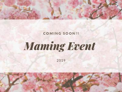 マミング春のイベント開催♪まとめ